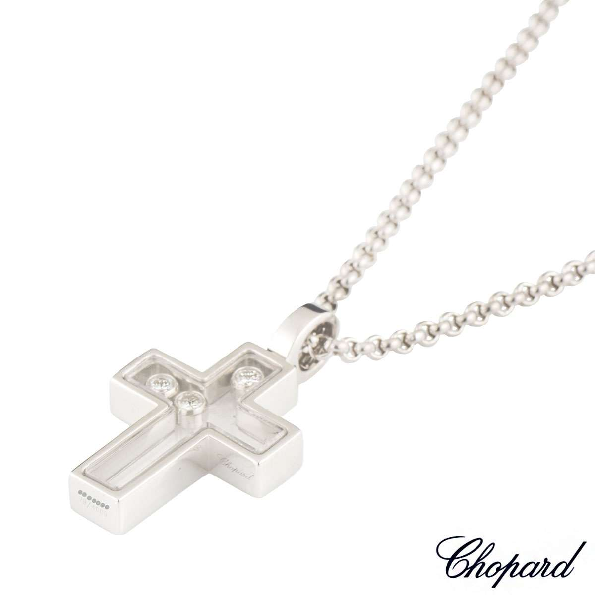 Chopard Happy Diamonds Cross Pendant